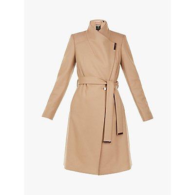 Ted Baker Sandra Wool Blend Wrap Coat