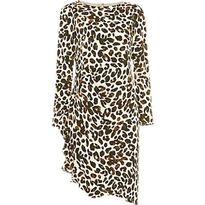 Damsel in a Dress Carrera Leopard Print Dress, Camel
