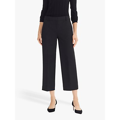 J.Crew Everybody Wide Leg Seasonless Stretch Trouser, Black