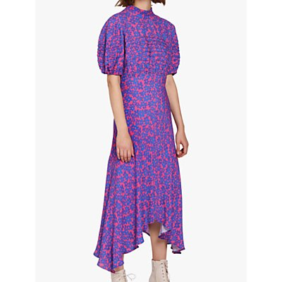 Ghost Jenna Floral Dress, Pink Floral