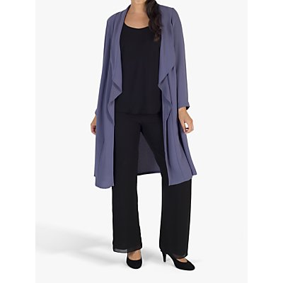 Chesca Crepe Coat, Hyacinth