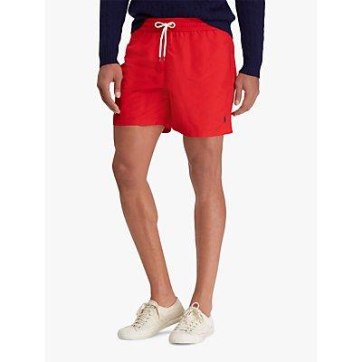 Polo Ralph Lauren Traveller Swim Shorts, Red