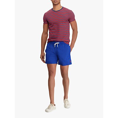 Polo Ralph Lauren Traveller Swim Shorts, Mid Blue