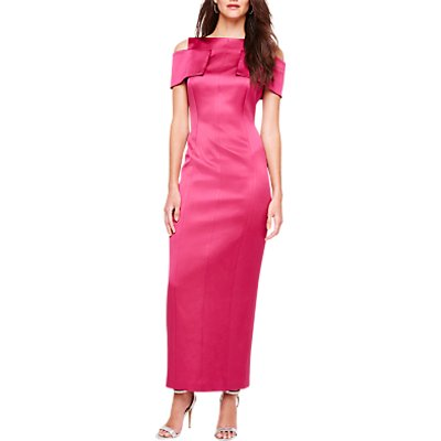 Damsel in a Dress Jaida Bardot Maxi Dress, Pink