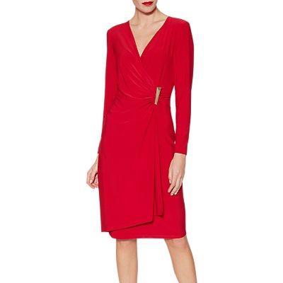 Gina Bacconi Harley Dress, Red