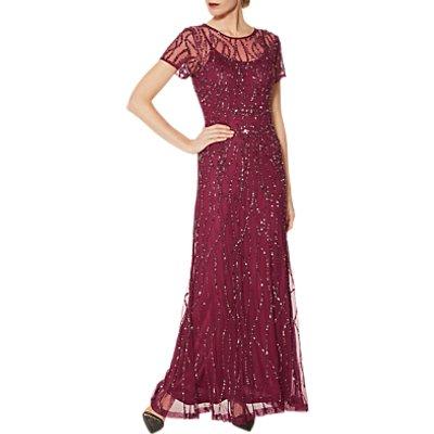 Gina Bacconi Macey Sequin Maxi Dress