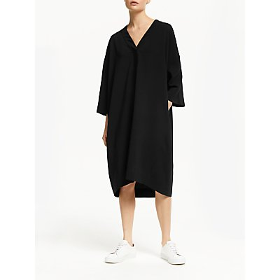 Kin Kimono Dress, Black
