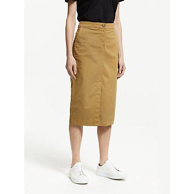 John Lewis & Partners Chino Midi Pencil Skirt
