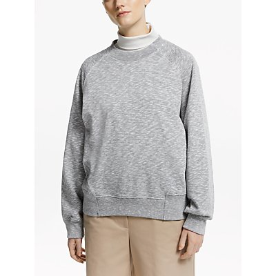 Kin Topstitch Sweatshirt, Grey