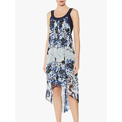 Gina Bacconi Prisma Chiffon Shift Dress, Multi