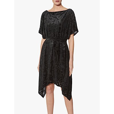 Gina Bacconi Oleta Kaftan Dress, Black