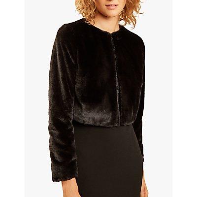 Fenn Wright Manson Maia Fur Jacket, Black