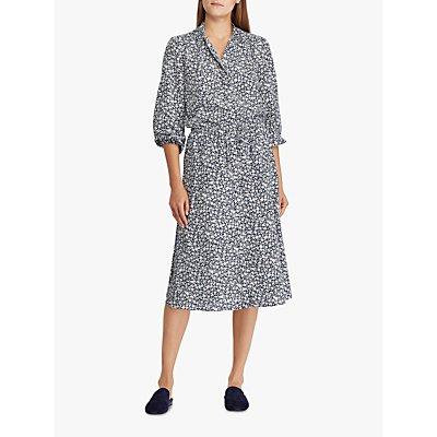 Polo Ralph Lauren Alixandra Floral Print Shirt Dress, Multi