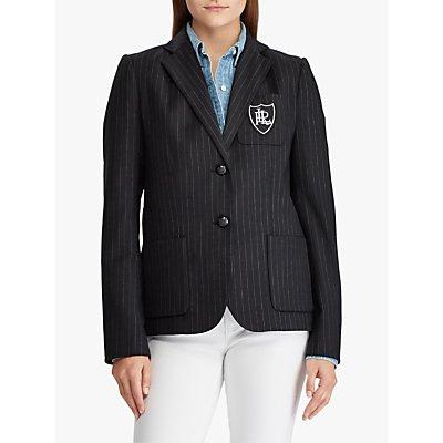 Lauren Ralph Lauren Anfisa Jacket, Black/White