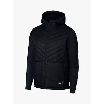 d03933e06ae4 191884085877  Nike AeroLayer Men s Running Jacket Black