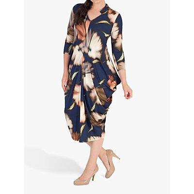Chesca Riviera Jersey Dress, Blue