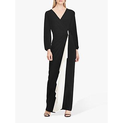 Lauren Ralph Lauren Santana Dress, Black/Lauren White