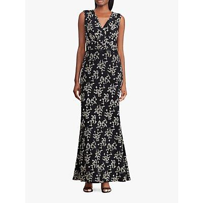 Lauren Ralph Lauren Rozana Dress, Black/Gold