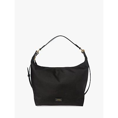 Lauren Ralph Lauren Medium Hobo Bag, Black