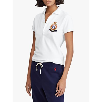 Polo Ralph Lauren Julie Polo Shirt, White
