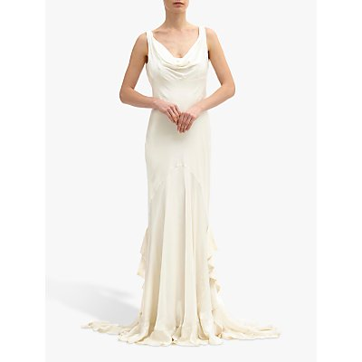 Ghost Willow Dress, Chalk White