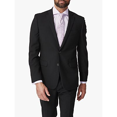 Richard James Mayfair Slim Super Suit Jacket, Black