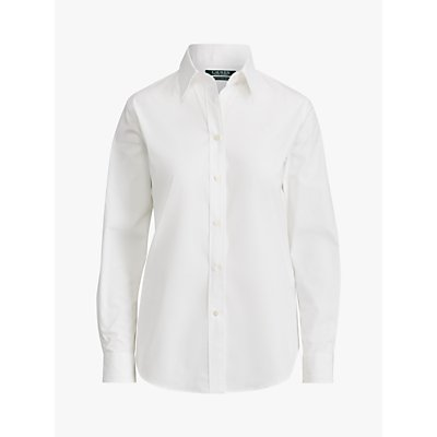 Lauren Ralph Lauren Jamelko Long Sleeve Shirt, White