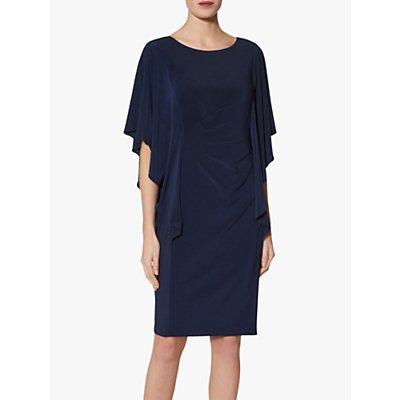 Gina Bacconi Rene Jersey Waterfall Sleeve Dress