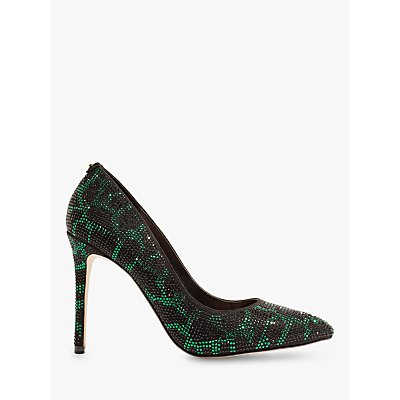 Karen Millen Embellished Stiletto Heeled Court Shoes