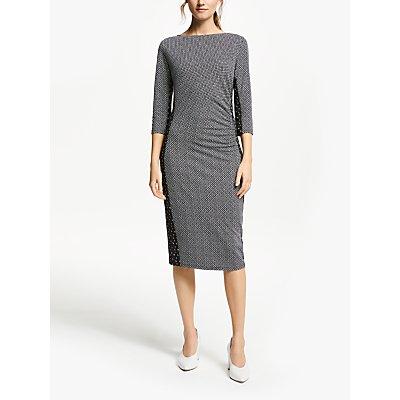 Weekend MaxMara Jersey Print Dress, Black
