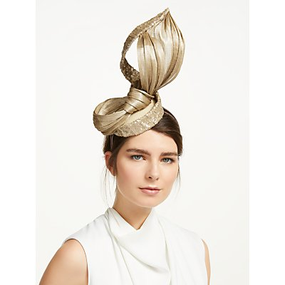Vixen Millinery Claudia Loop Sequin Pillbox Fascinator