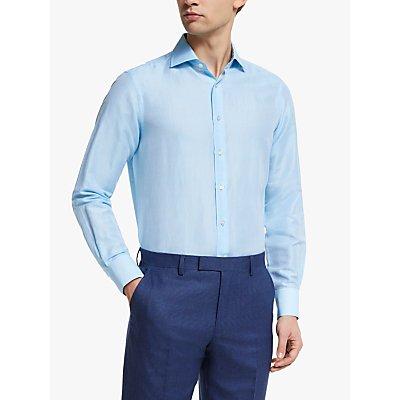 Smyth & Gibson Liberty Contrast Linen Cotton Shirt