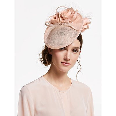 John Lewis & Partners Paige Flower Side Disc Occasion Hat