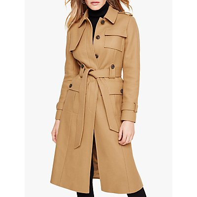 Damsel in a Dress Eleni Belted Trench Coat, Camel