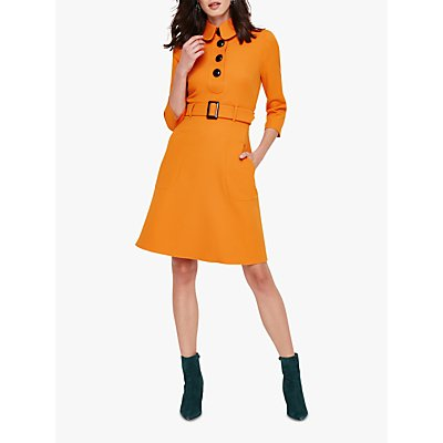 Damsel in a Dress Adie Button Dress, Burnt Orange