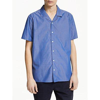 Kin Chambray Bowling Shirt, Blue