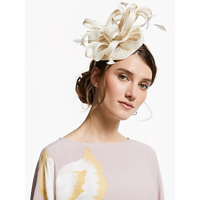 John Lewis & Partners Tara Loops Pillbox Fascinator
