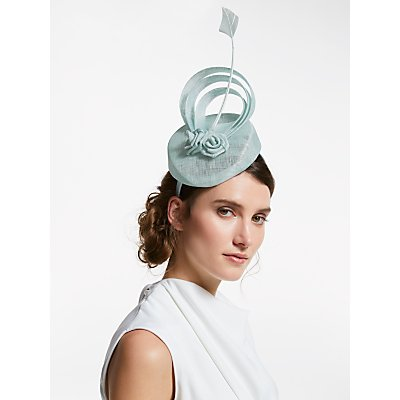 John Lewis & Partners Madonna Loop and Roses Pillbox Fascinator