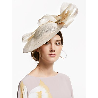 John Lewis & Partners Giovanna Loop Side Disc Occasion Hat