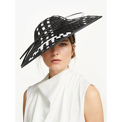 Peter Bettley Paris Check Detail Disc Occasion Hat