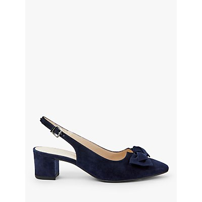 Peter Kaiser Bojana Bow Slingback Court Shoes