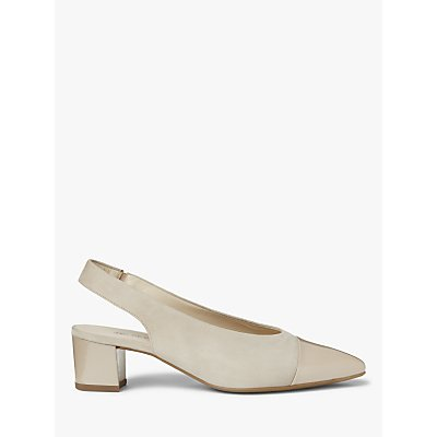 Peter Kaiser Bozea Block Heel Sling Back Court Shoes