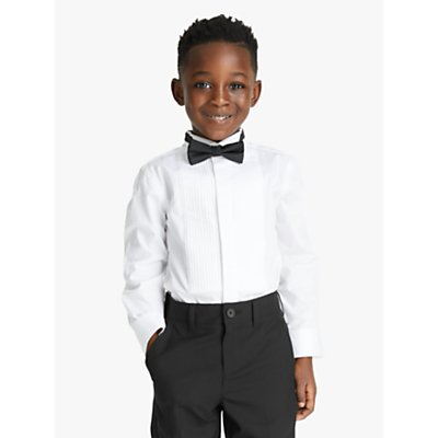 John Lewis & Partners Heirloom Collection Boys' Dress Shirt, White