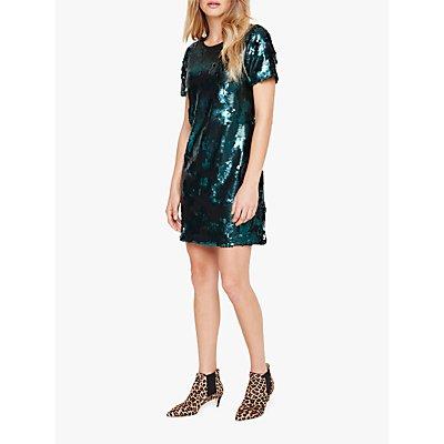 Damsel in a Dress Montana Sequin Dress, Green