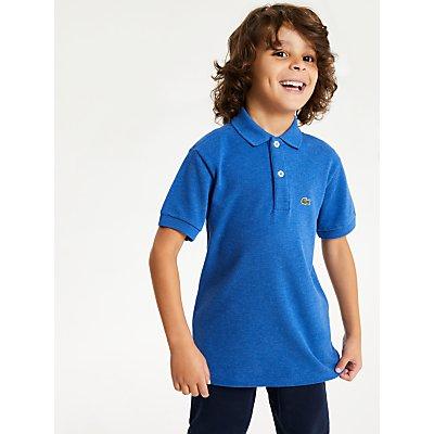 Lacoste Boys' Polo Shirt, Blue