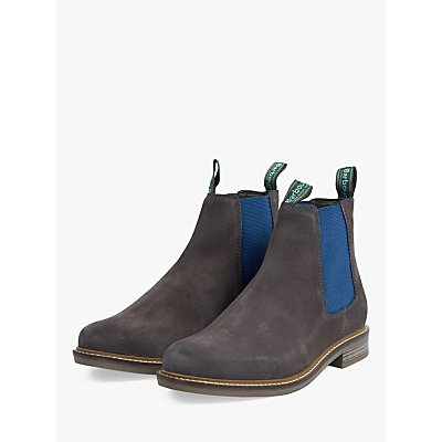 Barbour Farsley Suede Chelsea Boots  Grey - 192569253772