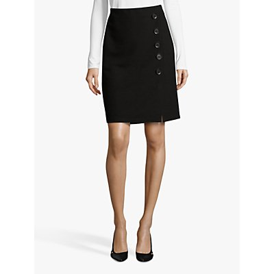 Betty Barclay Fine Ribbed Jersey Skirt, Black