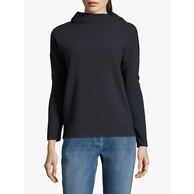 Betty Barclay Cowl Neck Long Sleeve Top, Dark Sky