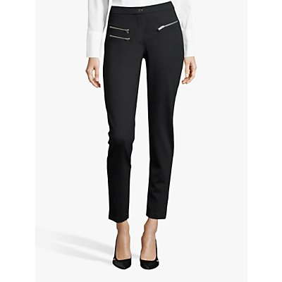 Betty Barclay Skinny Zip Detail Jersey Trousers