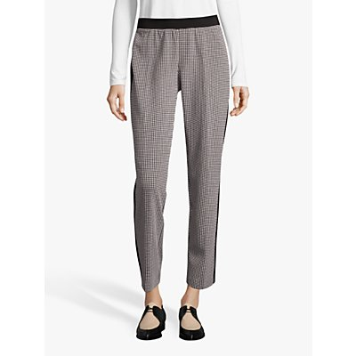 Betty Barclay Houndstooth Trousers, Black/Cream
